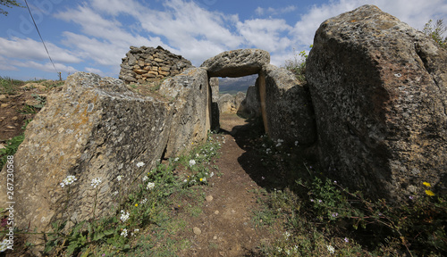 Dolmen de San Martín, Laguardia, Álava, País Vasco, España