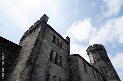 old philadelphia abandoned penitentiary Fototapeta