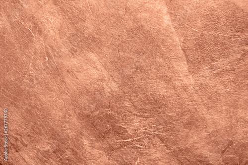 Abstract brushed copper surface metallic texture Tapéta, Fotótapéta