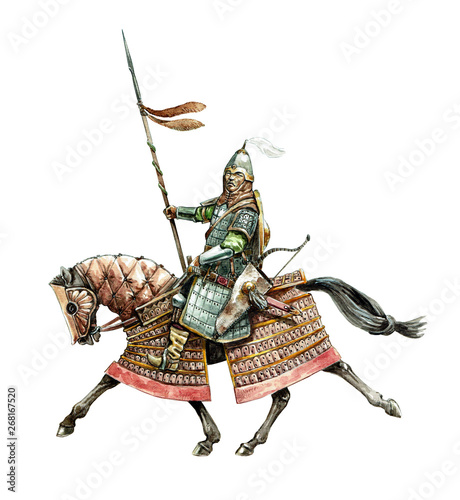 Fotografia Mongol warrior