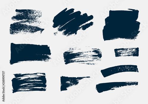 Fototapeta Monochrome abstract vector grunge textures