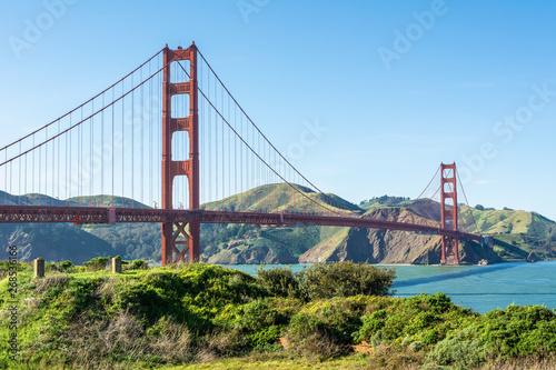 The Golden Gate Bridge in San Francisco, California, USA фототапет
