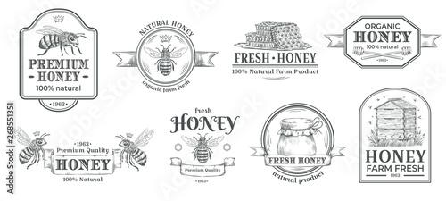 Fotografia Honey farm badge