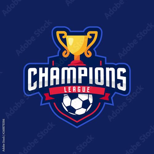 Fotografia, Obraz Soccer Champions League Logo Sport