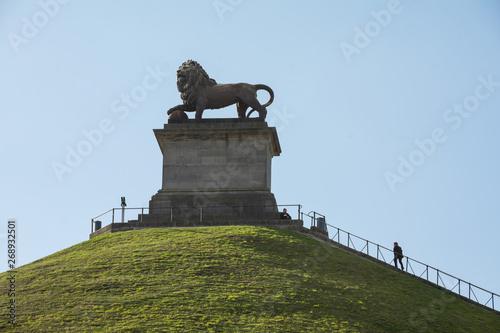 Wallpaper Mural The Lion of Waterloo - Lion's Hill in Waterloo - Belgium