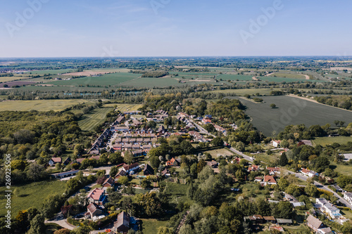 Платно Aerial view of Essex