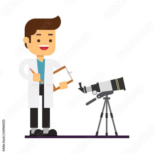 Man character avatar icon Fototapete