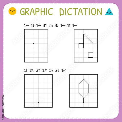 Graphic dictation Fototapete