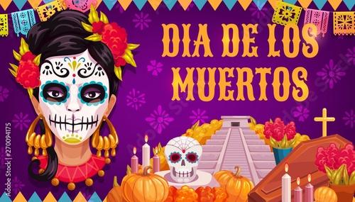 Foto Dia de los Muertos Mexican religious Day of Dead