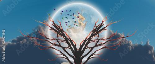 Canvas Print Tree of Life