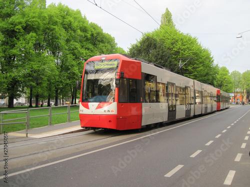 Fotografie, Tablou Cologne light rail