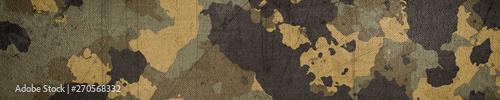 Fényképezés Camouflage cloth texture