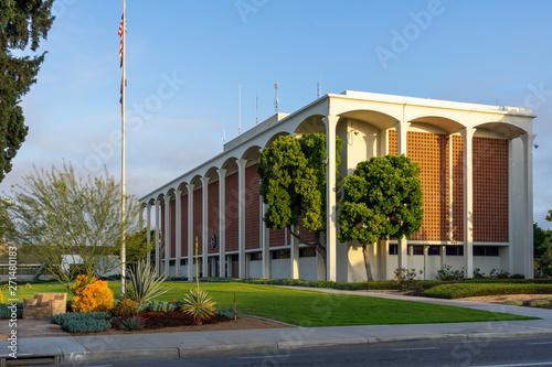 Vászonkép Fullerton City Hall Building