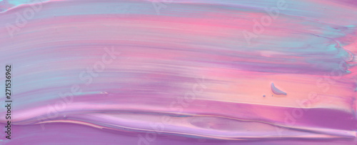 photography of abstract marbleized effect background. pink and purple creative colors. Beautiful paint. banner