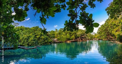 Wallpaper Mural The Blue Lagoon, Port Vila, Efate, Vanuatu