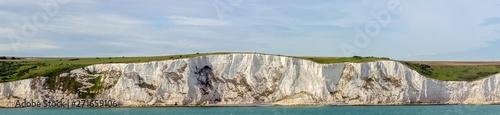 Fotografia White cliffs of England in Dover, United Kingdom