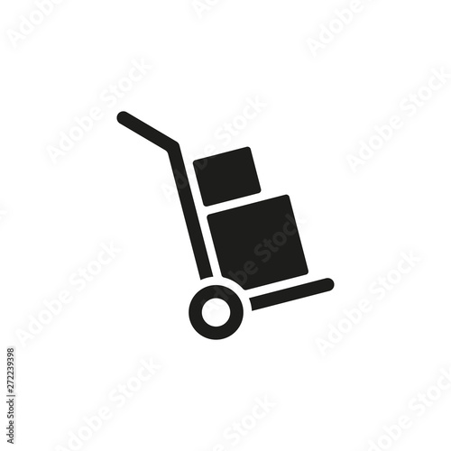 Fotomural Handcart icon