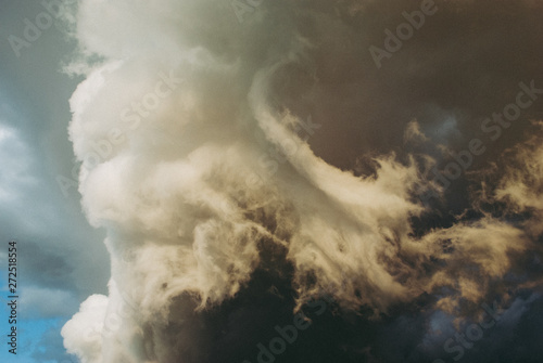 Fototapeta Background symbolizing the power of the elements.