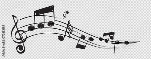 Fotografia Musical note