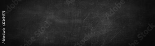 Fotografía dark and black chalk board background