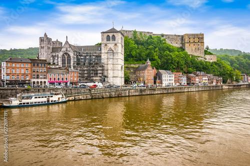 Fotografía Citadel of Huy along the Meuse river