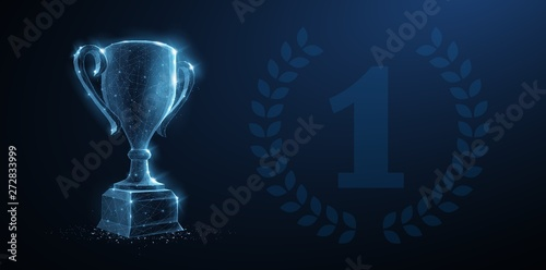 Tableau sur Toile Trophy cup