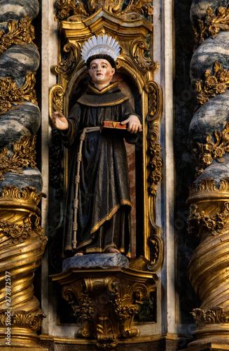 Stampa su Tela Statue de Saint Antoine à Évora, Portugal