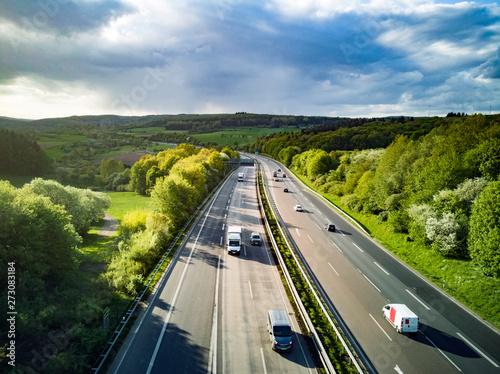 Obraz na plátne Highway in Germany