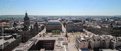 Foto Glasgow George Square panomaric view