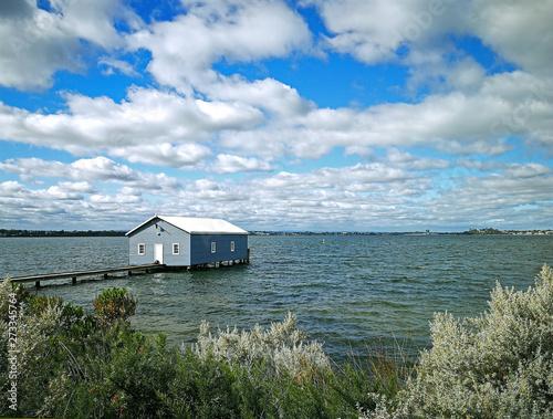 Photo Crawley Edge Boatshed-Blue Boat House, Perth, Australia