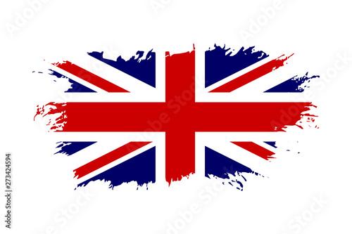 Obraz na plátně Great Britain flag