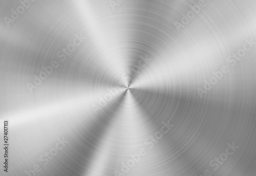 Radial metal texture background