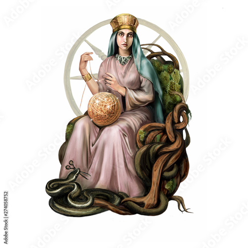 Canvas Print Great Goddess