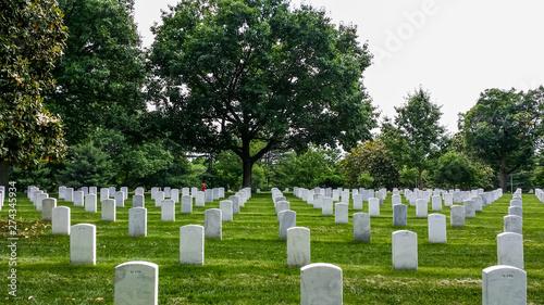 Valokuva Arlington Cemetery in Virginia, America