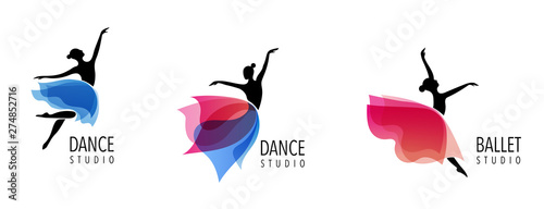 Foto Abstract people logo design