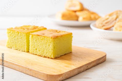 Valokuva Homemade pandan cake