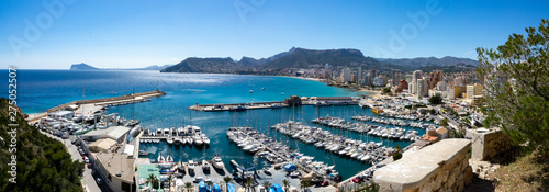 Beaches of Altea and the port, Spain
