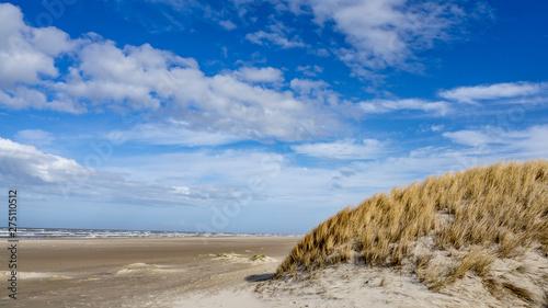 Photo Danish Coast and Beach Line in Grønhoj, near Løkken, North Denmark