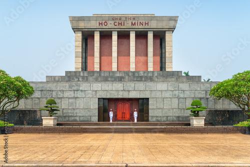 Canvas-taulu The Chairman Ho Chi Minh Mausoleum. Hanoi, Vietnam