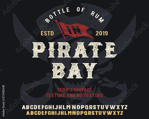 Canvas Print Pirate Bay