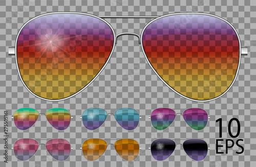 Tablou Canvas Set glasses