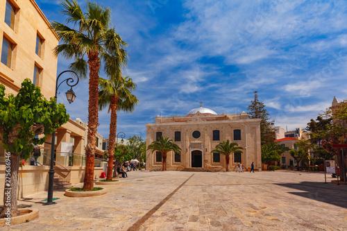 Obraz na płótnie Old town of Heraklion, Crete, Greece
