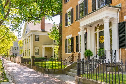 Obraz na płótnie Historic Homes in Salem, Massachusetts