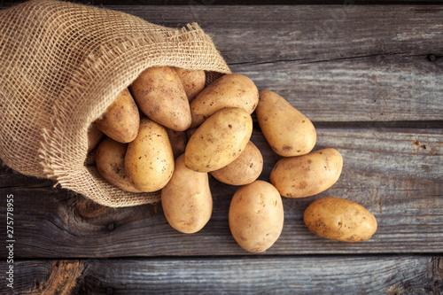 Fotografia Raw potato food