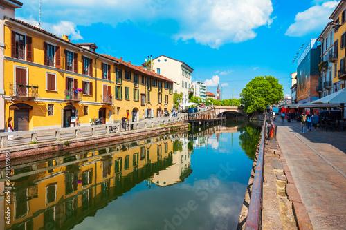 Fotografija Naviglio Grande canal in Milan