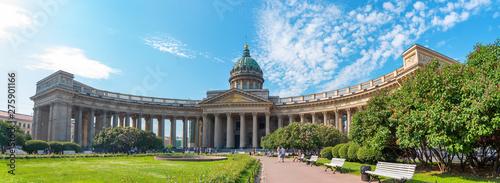 Obraz na płótnie Kazan Cathedral in the city of St. Petersburg.