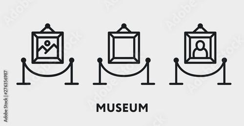 Fotografie, Obraz Museum Exhibition Picture Gallery Fencing