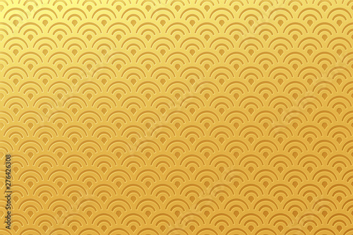Fototapeta Chinese traditional oriental ornament background