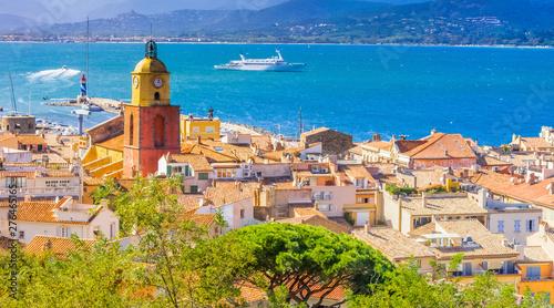 Fotografia ville de Saint-Tropez, Côte d'Azur, France