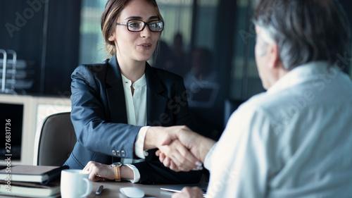 Fotografia Business people discussion advisor concept